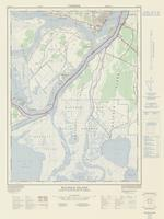 Walpole Island, ON. 1:25,000. Map sheet 040J10A, [ed. 2], 1977