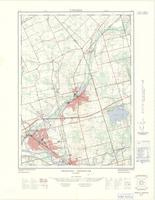 Cambridge - Preston (Preston - Hespeler), ON. 1:25,000. Map sheet 040P08F, [ed. 1], 1968