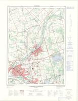 Cambridge - Preston (Preston - Hespeler), ON. 1:25,000. Map sheet 040P08F, [ed. 2], 1975