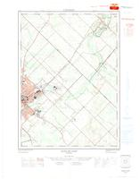 Guelph East (- Rockwood), ON. 1:25,000. Map sheet 040P09B, [ed. 1], 1965