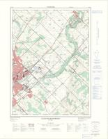 Guelph East (- Rockwood), ON. 1:25,000. Map sheet 040P09B, [ed. 2], 1975
