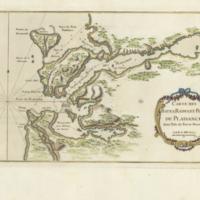 Carte des bayes, rades, et port de Plaisance dans l'isle de Terre-Neuve