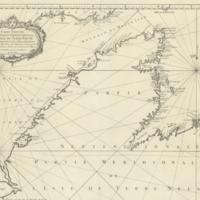 Carte réduite de la partie septentrionale de l'isle de Terre Neuve