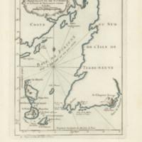 Carte des isles de Miquelon et de St. Pierre et la coste de Terre-neuve voisine