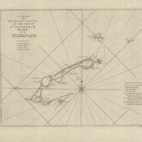 A chart of the Magdalen Islands in the Gulf of St. Laurence surveyed in 1765