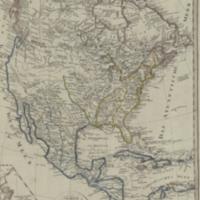 Charte von Nord-America