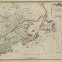A new and correct map of the British colonies in North America