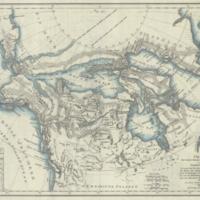 Charte von einem Theile des nördlichen Oceans und von Nordamerica