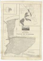 Survey for a ship canal around the Falls of Niagara