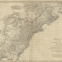 A particular map of the American lakes, rivers &c.