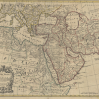 A map of Turky, Arabia and Persia