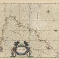 Paskaart van Brasil van Rio de los Amazones, tot Rio de la Plata
