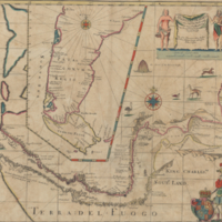 A new mapp of Magellan Straights discovered by Capt. John Narbrough
