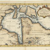 Carte de la Baye de Hudson pour servir à l'Histoire generale des voyages