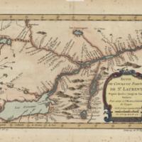 Suite du cours du fleuve de St. Laurent, depuis Quebec jusqu'au Lac Ontario