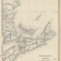 North America : sheet I. Nova-Scotia with part of New Brunswick and Lower Canada