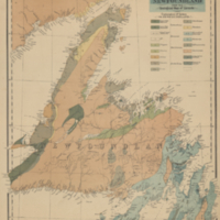 Geological map of Newfoundland from the Geological map of Canada