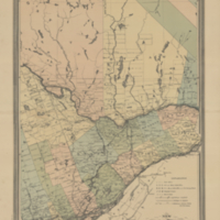 New railway and postal map of the Dominion of Canada. Sheet no. 1