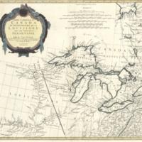 Partie occidentale du Canada et septentrionale de la Louisiane avec une partie de la Pensilvanie