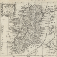 An accurate map of Ireland on a spheroidical projection