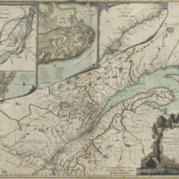 A new map of the Province of Quebec, according to the Royal Proclamation, of the 7th. of October 1763