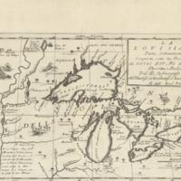 La Lovisiana, parte settentrionalle, scoperta sotta la protettione di Luigi XIV, Rè di Francia, et c.