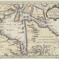 Carte de la Baye de Hudson, pour servir à l'Histoire générale des voyages