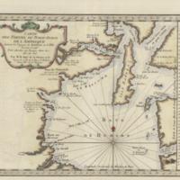 Carte des parties du Nord-Ouest de l'Amerique suivant les voyages de Middleton et d'Ellis en 1742 et 1746