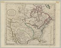 A general, map of North America from the best authorities