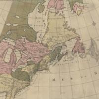 Carte nouvelle de l'Amerique Angloise