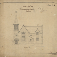 Design for a gate lodge, Burlington Heights Cemetery, Hamilton, sheet no. 4
