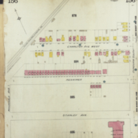 [Insurance plan of the city of Hamilton, Ontario, Canada] : [sheet] 156