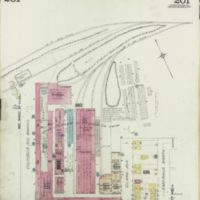 [Insurance plan of the city of Hamilton, Ontario, Canada] : [sheet] 201