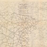 Third Army Traffic Map, Lens
