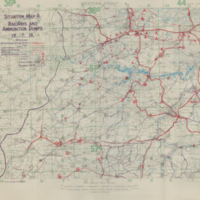 Situation Map 4: Railways and Ammunition Dumps 15-7-18