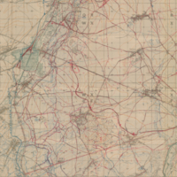 Sailly [Cambrai] Intelligence Target Map 25-9-18