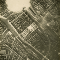 Aerial photo, World War, 1914-1918; WW1 Trench Maps: France. January, 1916.