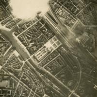 Aerial photo, World War, 1914-1918; WW1 Trench Maps: France. January, 1916.