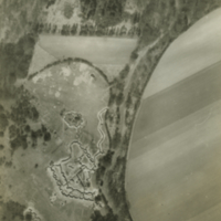 Aerial photo, World War, 1914-1918; WW1 Trench Maps: France. April, 1917.