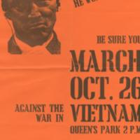 Vietnam Mobilization Committee, poster, 26 October [1968?]