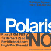 Committee of 100, poster, 18 February [1961]