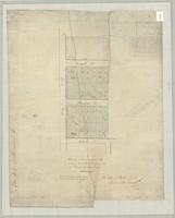 Sketch of survey lots in the City of Hamilton, the property of Robert N. Law, Esqr.