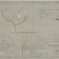 Plan of survey of part of lot no 24 in the 2nd conn Flamboro' West containing 18 1/2 acres