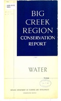 Big Creek Region conservation report, water