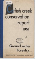 Catfish Creek conservation report