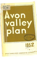 Avon Valley plan, 1952