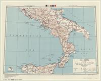Italy (South) : special strategic map