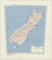 New Zealand (South) : special strategic map