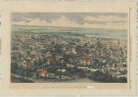 View of the City of Hamilton, from a photograph by Milne