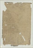 Tracing of plan showing the position of lots comprising the Village of Freelton, Township of West Flamborough